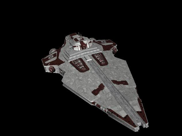 Bloodstripe Confederation Legacy-class Star Defender