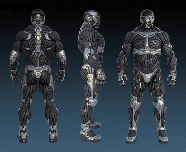 Crynet Industries Nano-Muscle Suits (Nanosuit)