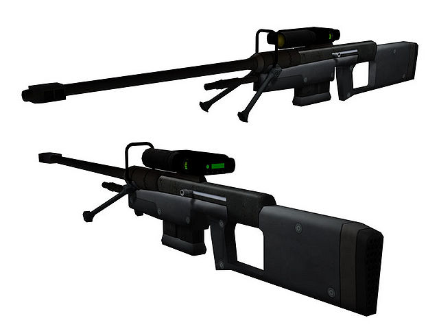 SRS99C-S2 AM Sniper Rifle