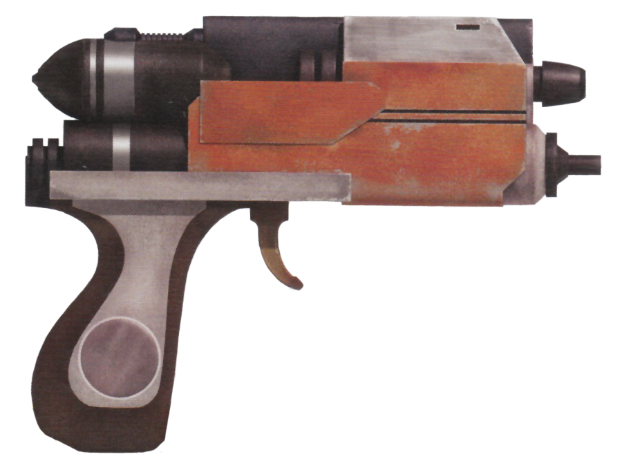Eirriss Ryloth Defense Tech Blurgg-1120 Hold-out blaster pistol