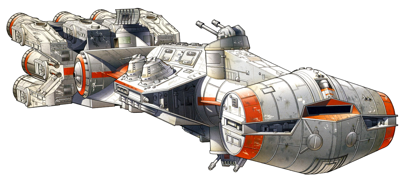 Corellian Engineering Corporation CR90 corvette
