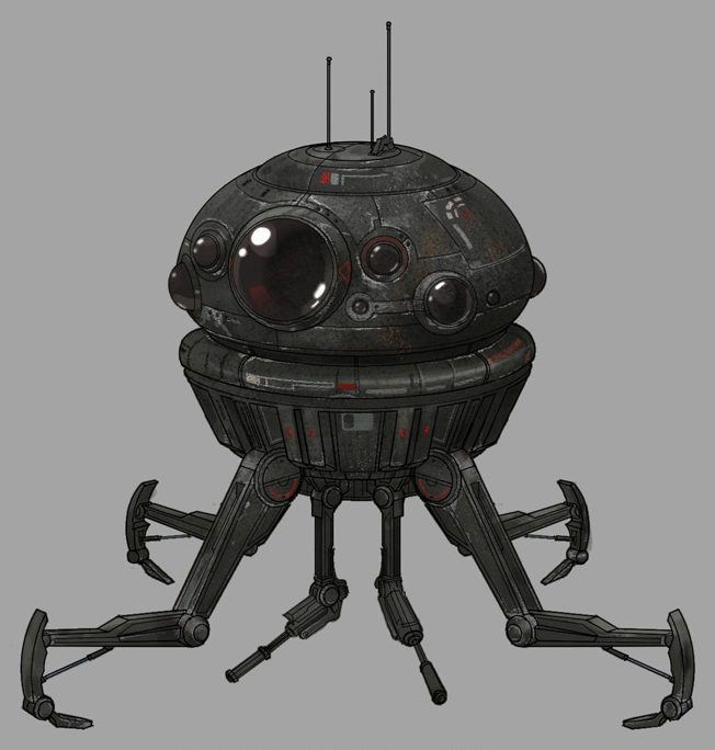 Arakyd Industries Viper-Class Dwarf probe droid