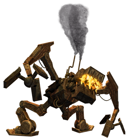 Lotho Minor Fire-breather Refuse incinerator droid