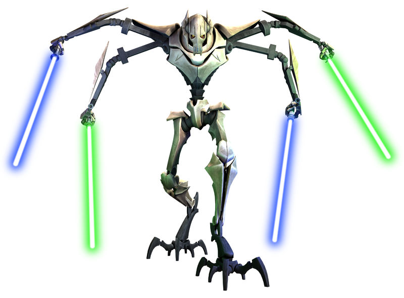 General Grievous (as of The Clone Wars)