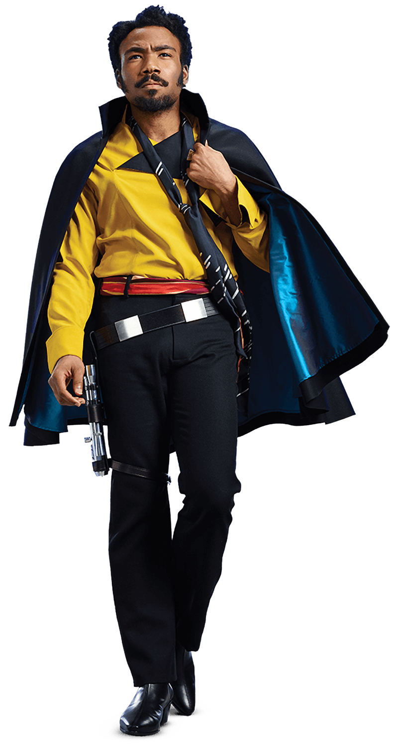 Lando Calrissian (as of Solo: A Star Wars Story)