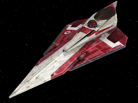 Kuat Systems Engineering Delta-7B Aethersprite-class light interceptor