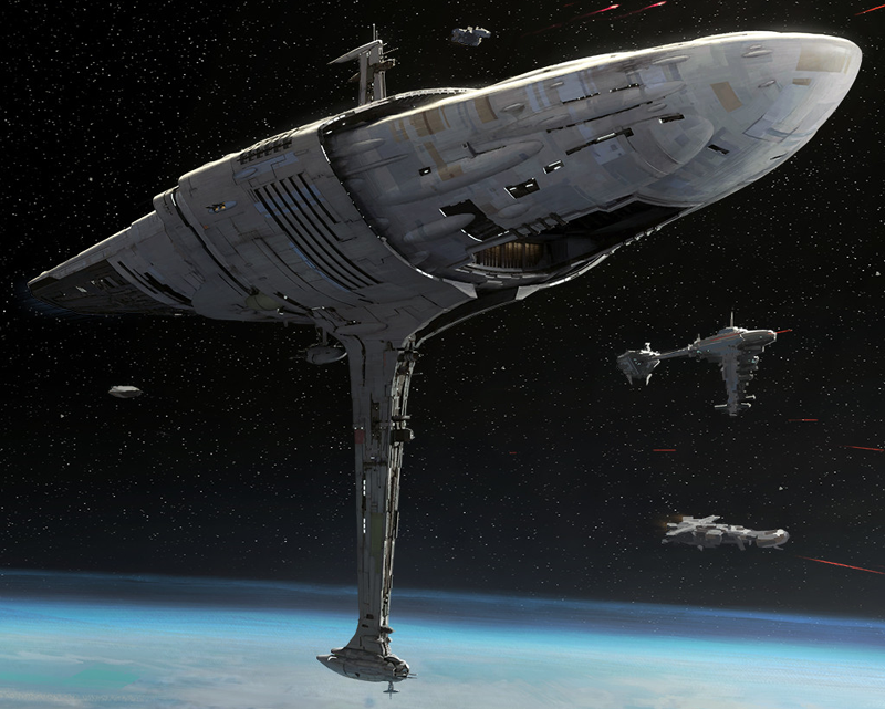Mon Calamari independent engineering MC75 Star Cruiser