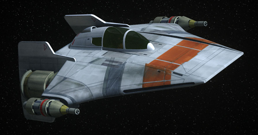 Kuat Systems Engineering RZ-1T trainer A-wing interceptor