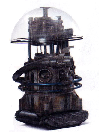 SN-1F4 miniature sifter droid