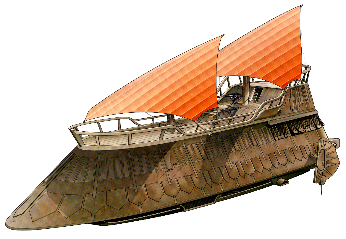 Ubrikkian Industries Luxury-class sail barge