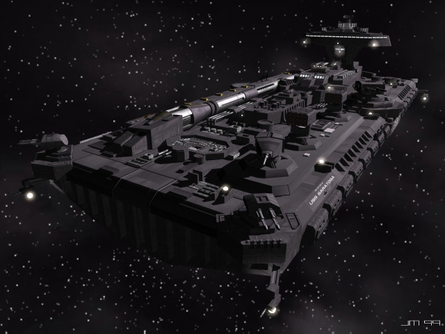 Aero-Tech Space Division SCVN Carrier-Cruiser