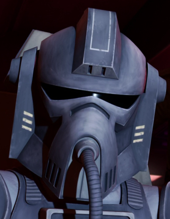 Stealth Pilot clone trooper