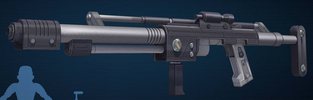 T-7 ion disruptor rifle