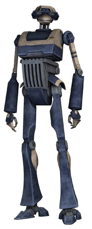 Baktoid Combat Automata T-series tactical droid