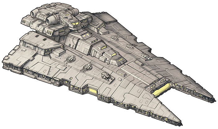 Rendili StarDrive Gladiator-class Star Destroyer