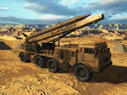 Assan Aeroplane Company Porcupine Planetary Defense Missile Launcher