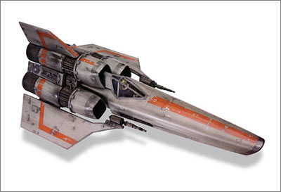 Colonial Asp Viper Fighter (Galactica 1980)
