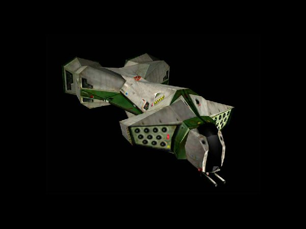 Galactic Terran Alliance Boanerges Class Bomber