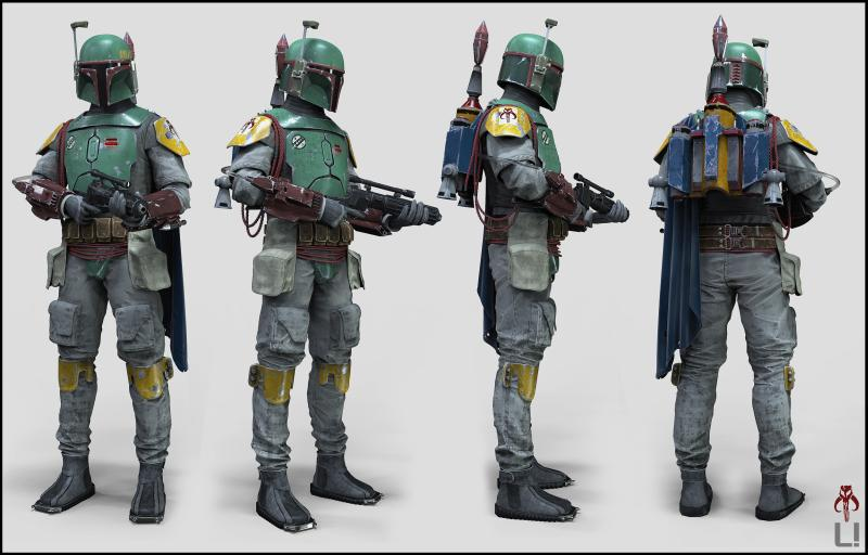 Boba Fett (Mandalorian Bounty Hunter)