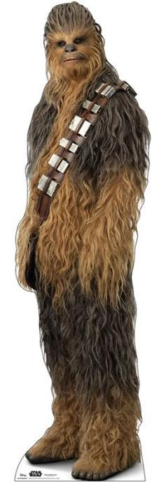 Chewbacca (as of Rise of Skywalker)