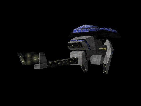 Galactic Terran Alliance Charybdis Class Advanced Warning And Control System Ship