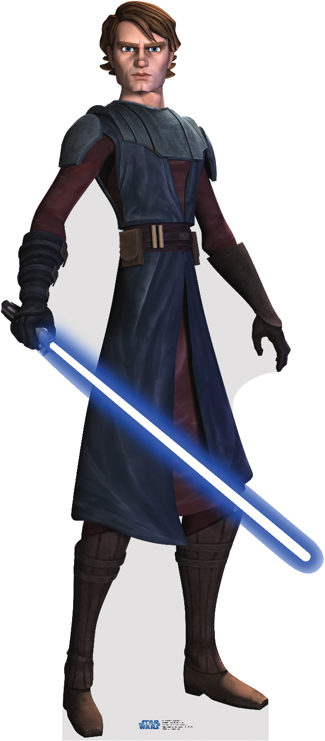 Anakin Skywalker (as of The Clone Wars)