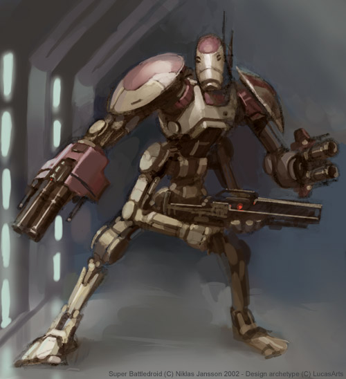 Trade Federation F Series Battle Droid