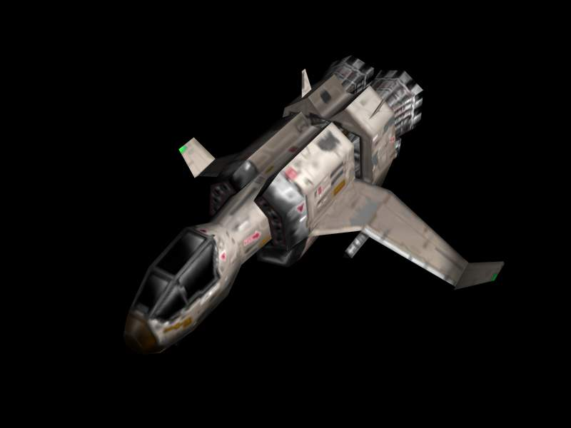 Galactic Terran Alliance Valkyrie Class Fighter