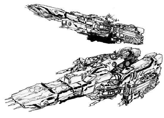 Robotech Defence Force (RDF) Super Dimensional Fortress (SDF)