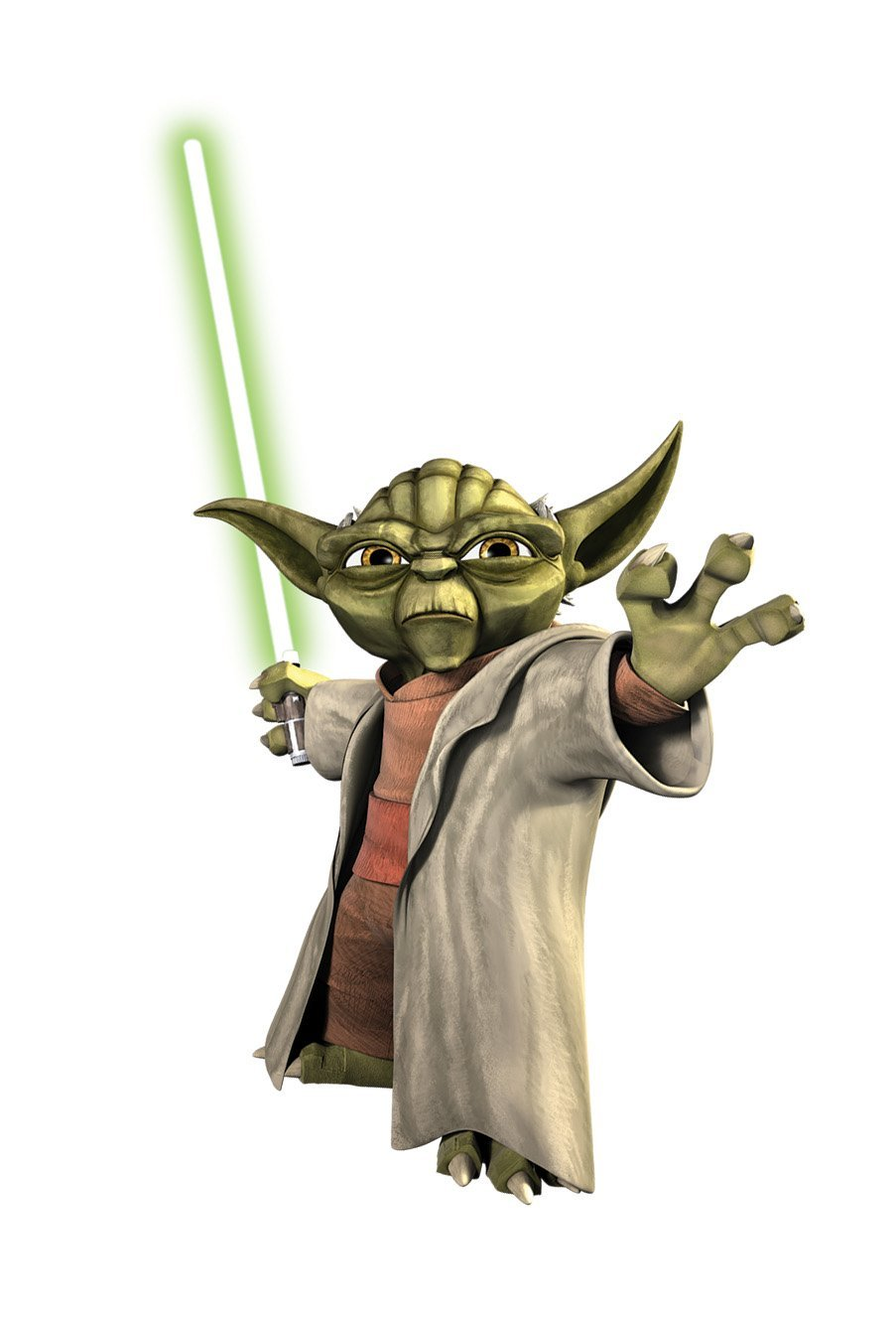 Yoda (as of The Clone Wars)