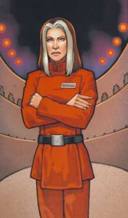 Ysanne Isard (Human Director of Imperial Intelligence)
